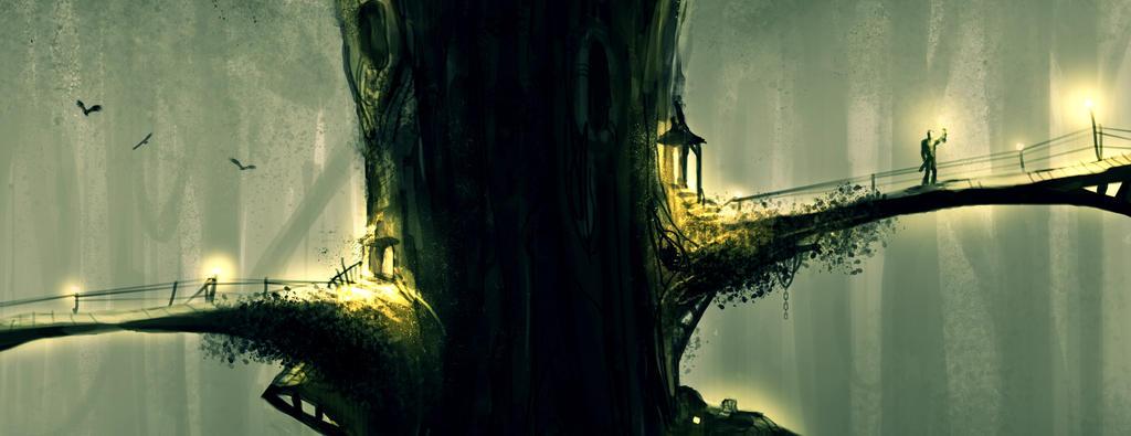 Treehouse II by FutureNomad