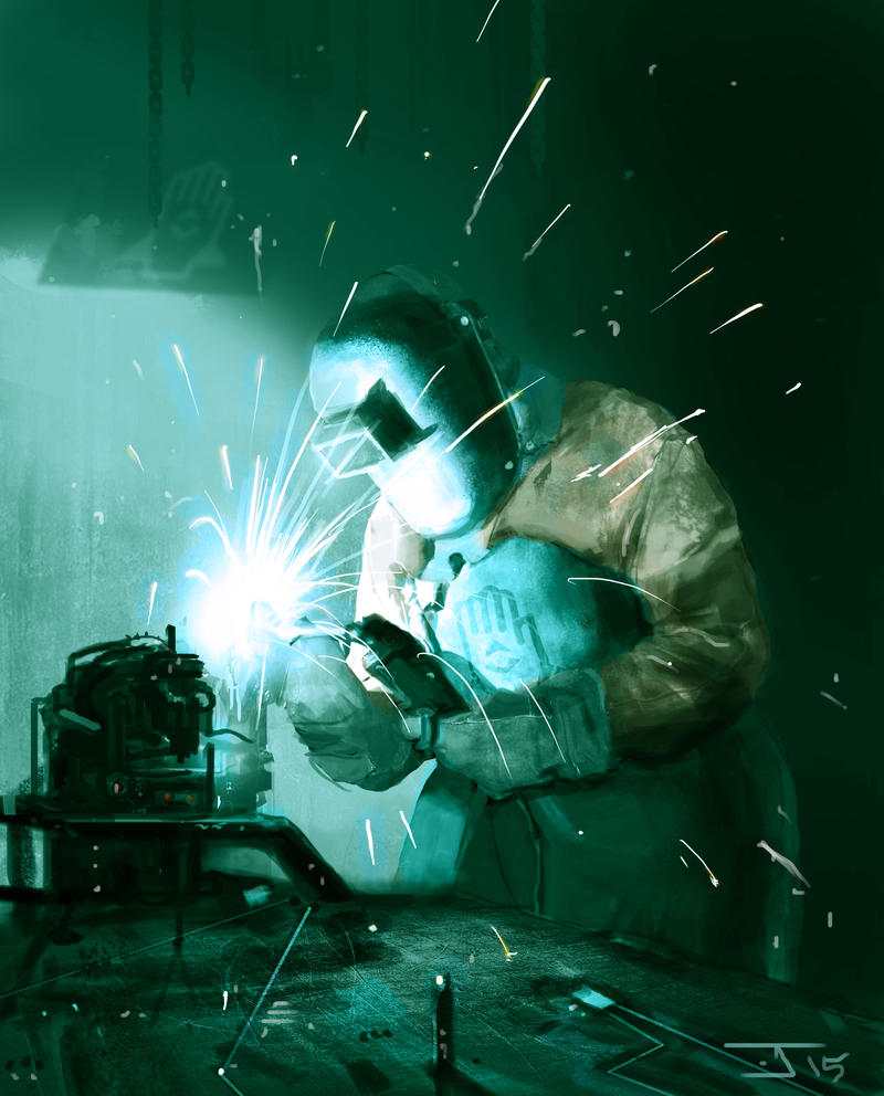 Production worker by FutureNomad