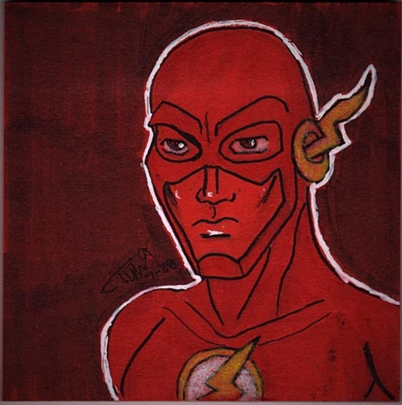 Flash Post-It by SoulRipper85