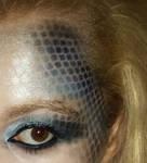 mermaid make up design by KayleeBrownn