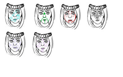 Vakne Face Markings