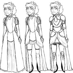 Delphinia Reisende - Outfits by Nikai-Nocturne