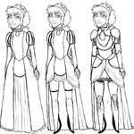 Delphinia Reisende - Outfits