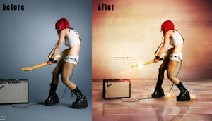 before-after passion for music II