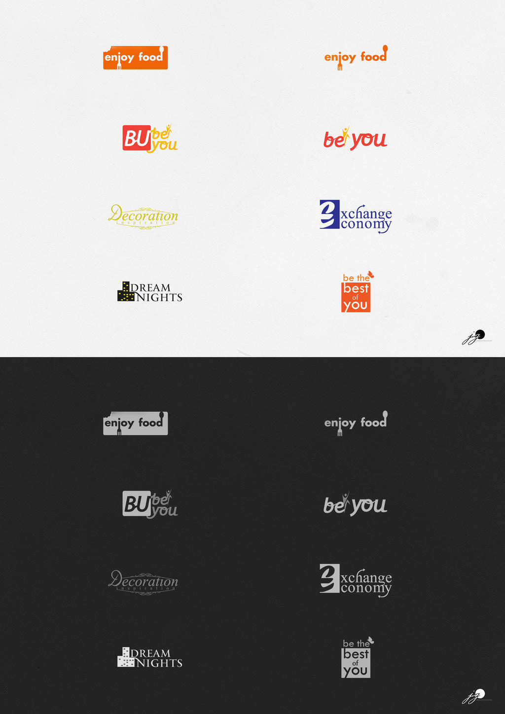logo series 2012-2013 by johngiannis27