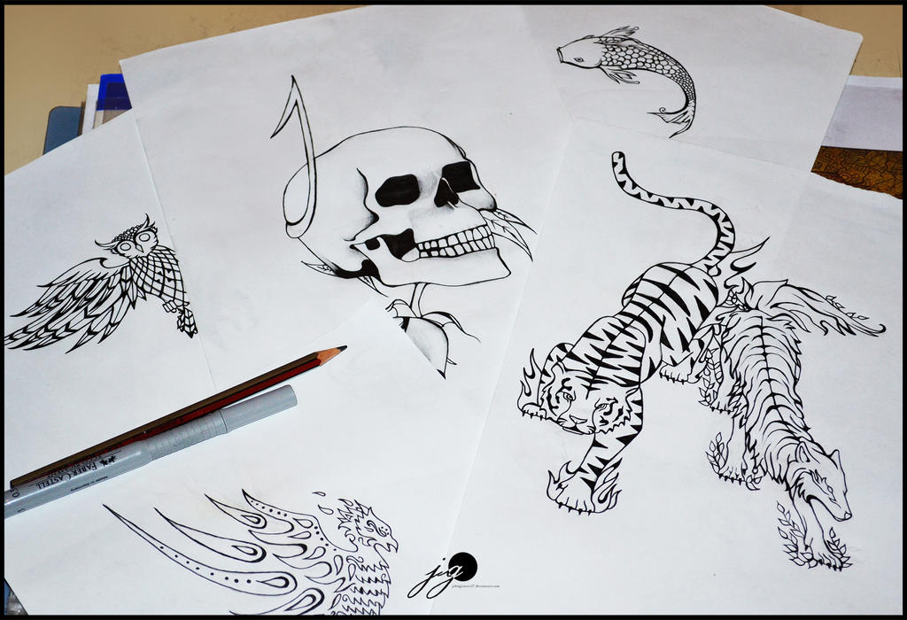 series tattoo design by johngiannis27