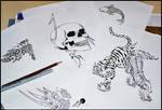 series tattoo design