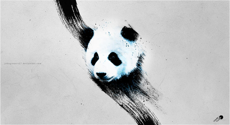 cool panda wallpaper  Panda - Wallpaper* by johngiannis27 on DeviantArt
