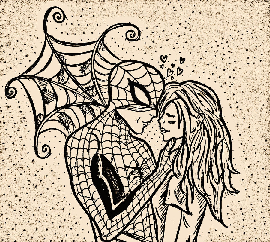 spiderman and mary jane relationship