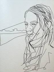 lil portrait of myself by pockacho