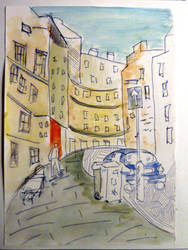 Grassmarket Edinburgh by pockacho