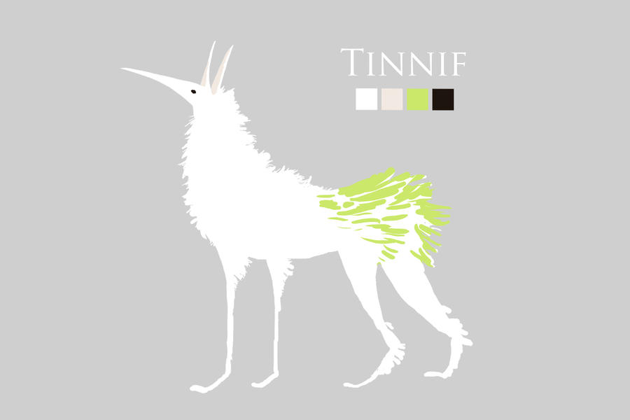 Character Design - Tinnif by ZimtBeadwork