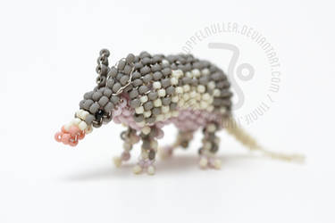 Nine banded Armadillo by ZimtHandmade