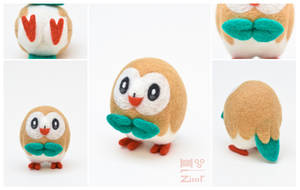 NF ROWLET by ZimtHandmade