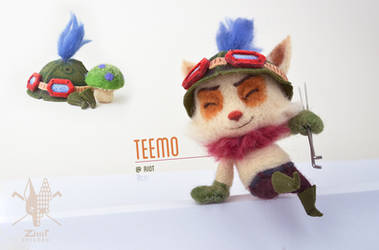 [NF] CAPTAIN TEEMO ON DUTY by ZimtHandmade