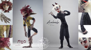 [$] Avalanche and Mylo by ZimtHandmade