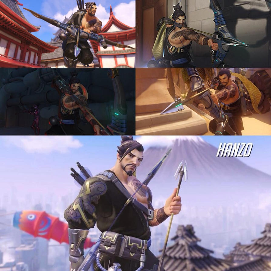 Hanzo by grubtubs on DeviantArt