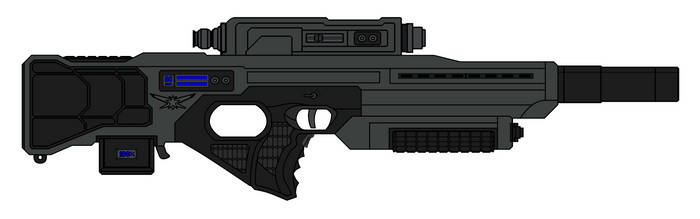 R5D7 Laser Rifle by sabresteen