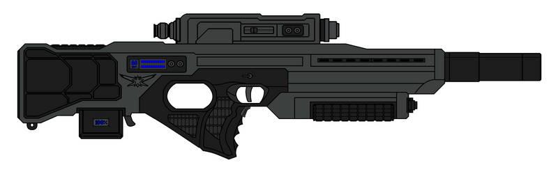 R5D7 Laser Rifle by sabresteen