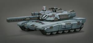T80 Goliath - Heavy Battle Tank by sabresteen