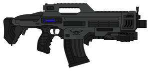 RS73 Accelerator Rifle by sabresteen