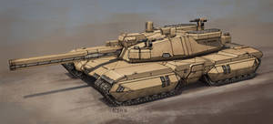 T90 Behemoth - Super heavy battle tank by sabresteen