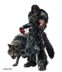 Cain (Apex) Jaeger the Alpha Hunter and Bersicker