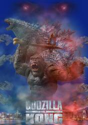 Godzilla vs Kong (Fan Poster) V2