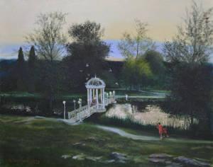 Evening Pond, 2020