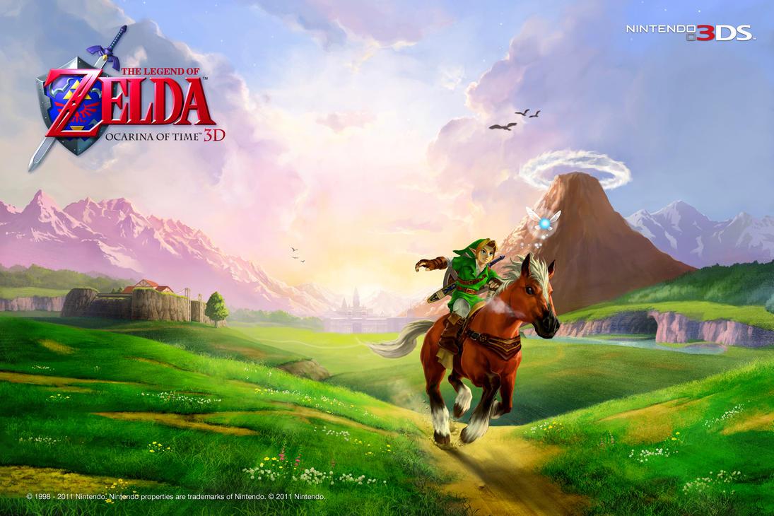 Legend of Zelda: OoT Wallpaper by Usagi-no-Mimi