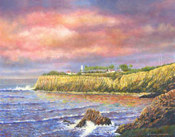 Point Vicente Lighthouse (Southern California) by DouglasCastleman