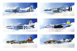 Army Air Force WW2 Bombers