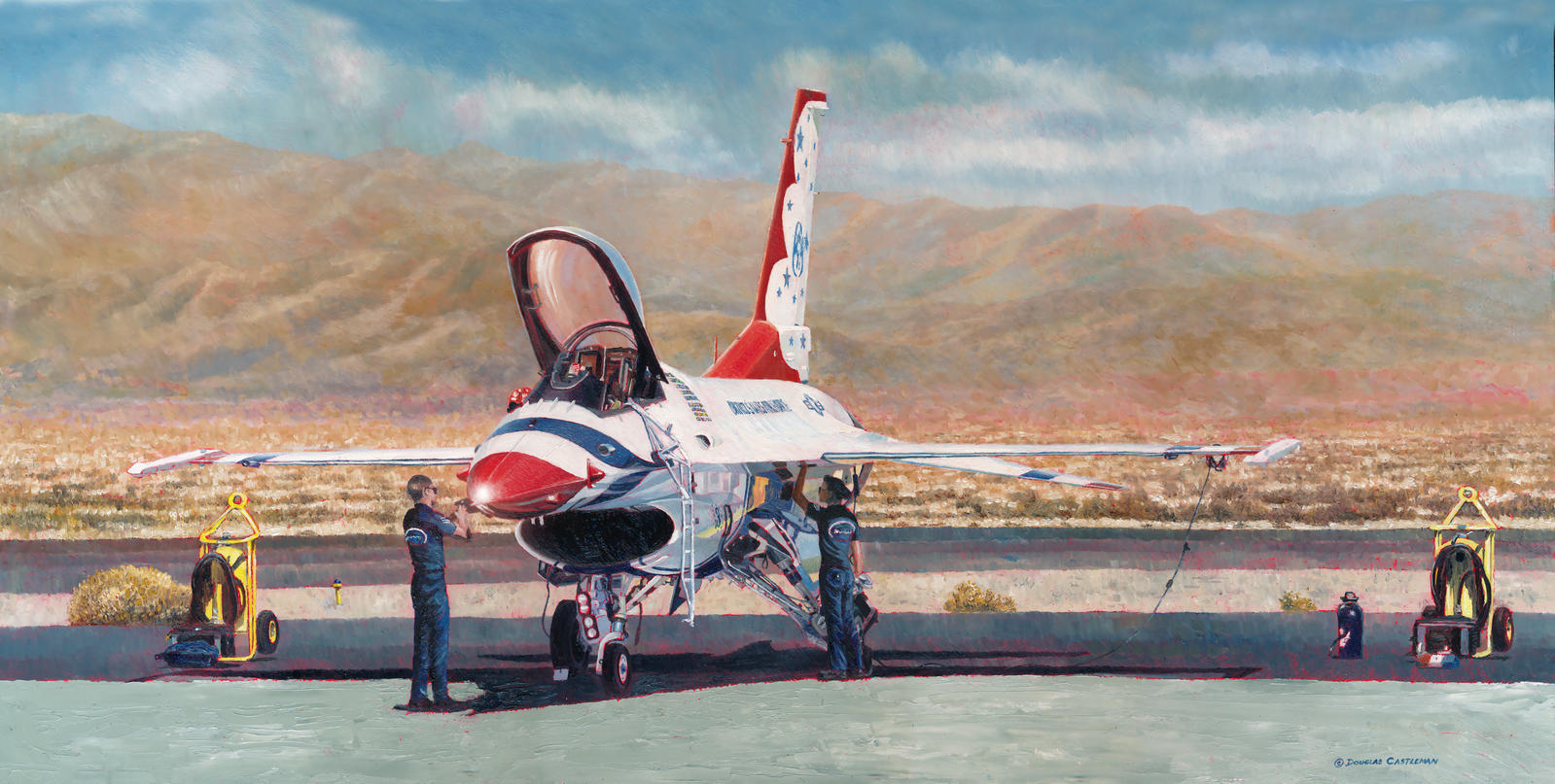 Thunderbird Maintenance by DouglasCastleman