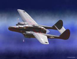 Northrop P-61A Black Widow Night Fighter