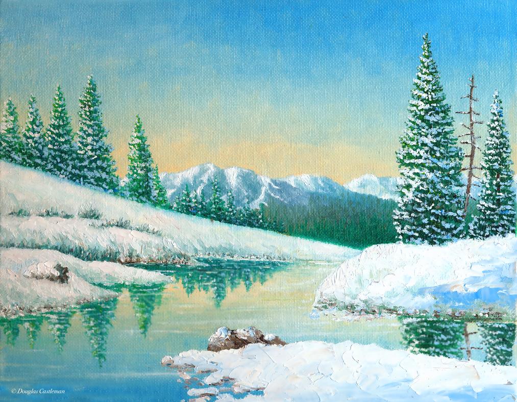 Sierra Winter by DouglasCastleman