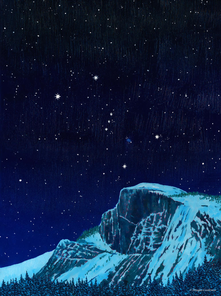 Orion Over Yosemite by DouglasCastleman
