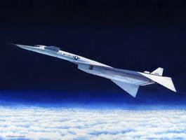North American XB-70A Mach 3 Bomber by DouglasCastleman