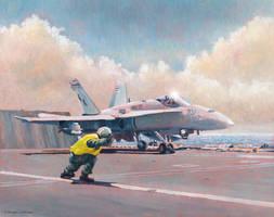 Hornet Launch by DouglasCastleman