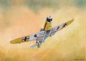 Messerschmitt Bf-109F by DouglasCastleman