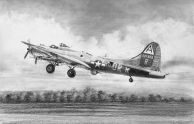 Boeing B-17G Drawing