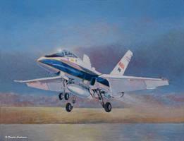 NASA F-18D Hornet