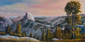 Yosemite Morning at Glacier Point