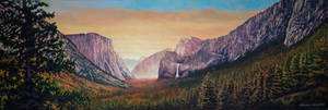 Yosemite Valley Morning