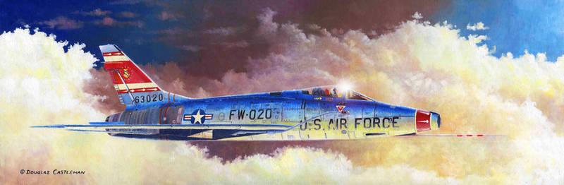 F 100D Super Sabre Profile