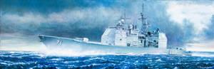 USS Cape St George Cruiser