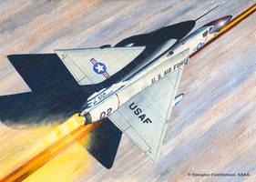 Convair F-106A Delta Dart Take Off