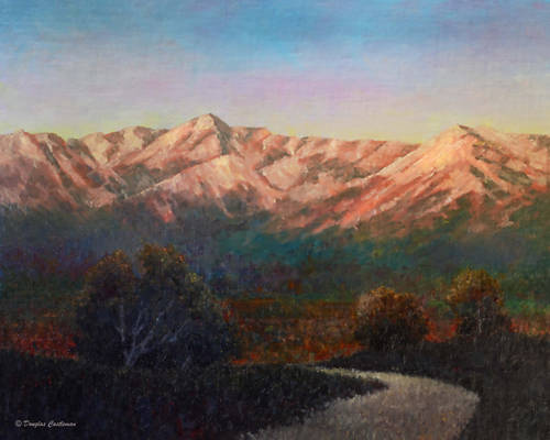 First Light On the Mountains