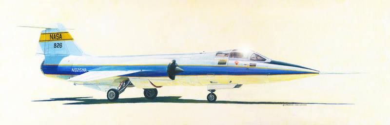 NASA Lockheed F-104G Starfighter