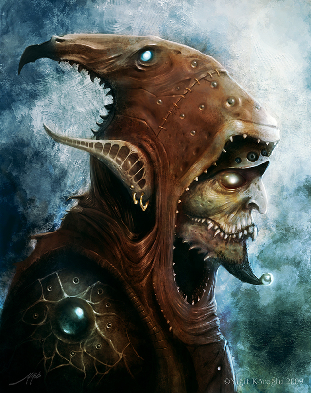 mob goblin warlock by PabloQ