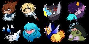 Spectrel emotes